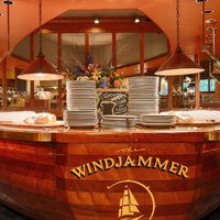 The Windjammer Salad Boat